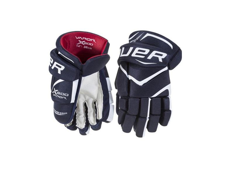 Перчатки игрока BAUER Vapor X600 т.син