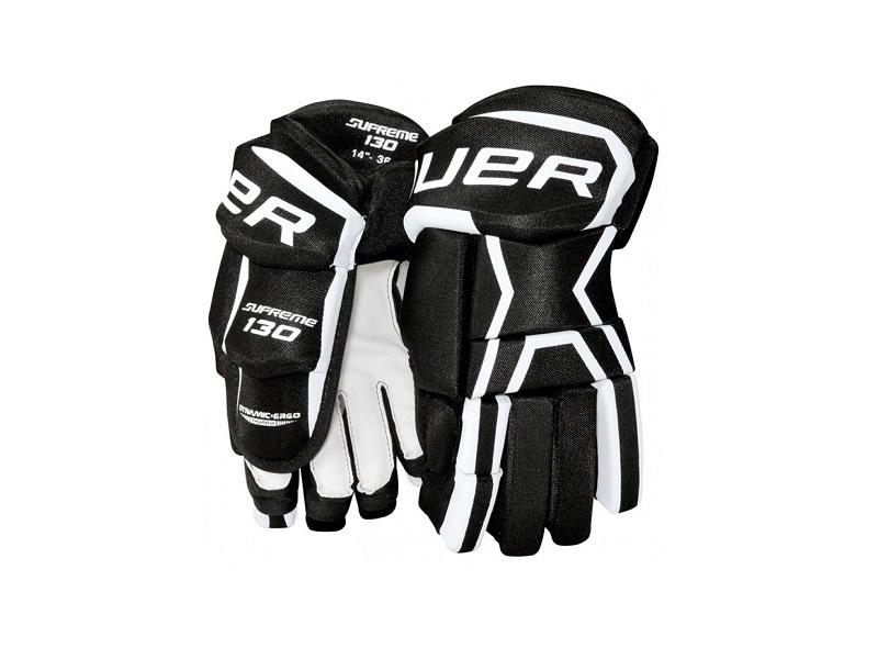 Перчатки игрока BAUER Supreme 130 чер-бел