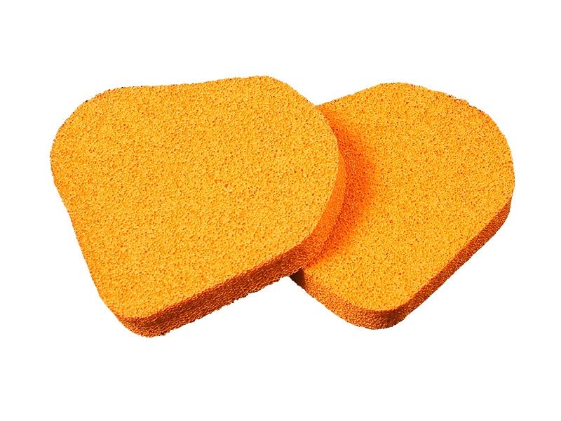 Губка для перчаток врат KOSA 601 оранж.