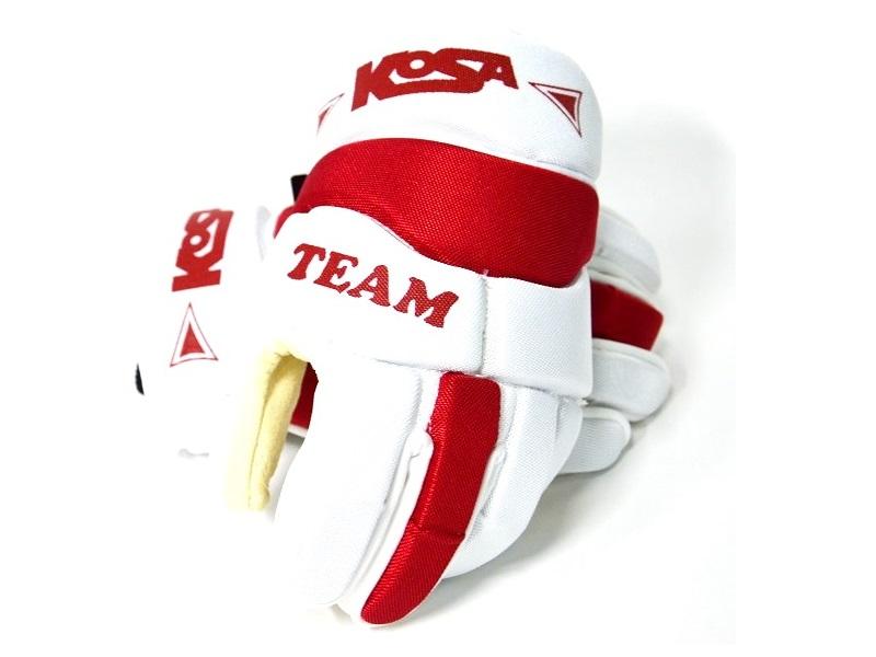 Перчатки игрока KOSA 5055 Team 2018 крас