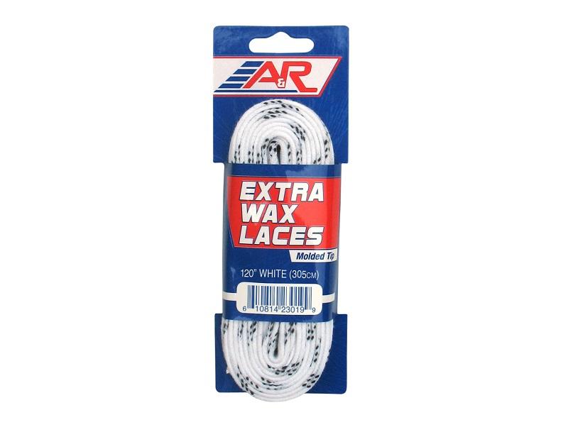 Шнурки A&R USA белые с пропит.