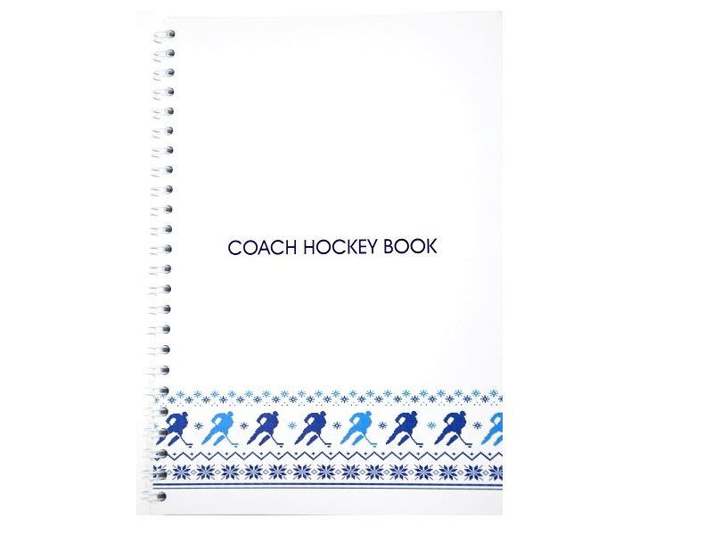 Блокнот тренера Coach Hockey Book