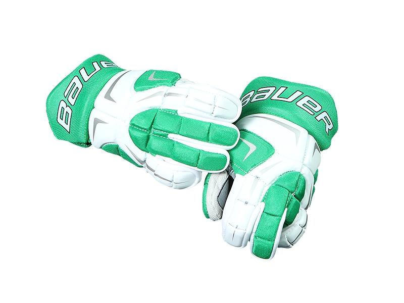 Перчатки BAUER 80 бел-зел