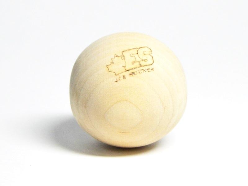 Мяч трен. деревянный 50мм ES