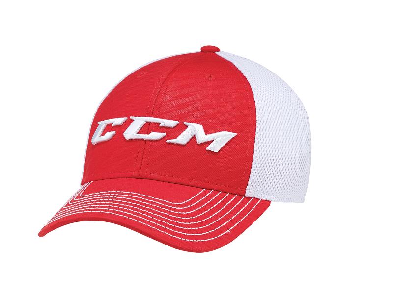 Бейсболка CCM Team Mesh Flex крас