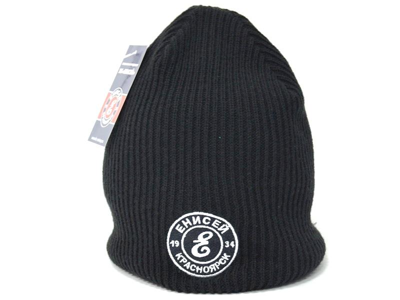 Шапка черная логотип Е